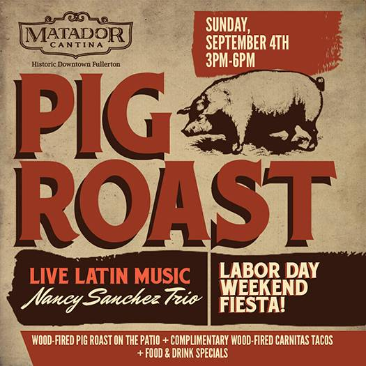 Labor Day Weekend Pig Roast & Fiesta